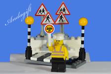 LEGO city car road signs zebra crossing Belisha beacons lollipop person