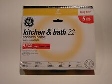 """NEW GE 11084 Kitchen and Bath 5 Year Circline Fluorescent Light Bulb Lamp 8"""""""