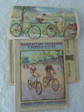 Catalogue MANUFRANCE 1936 cycles Hirondelle (27) biclycle fahrrad + sports jeux.