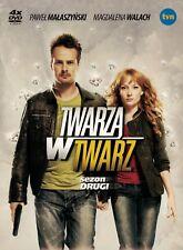 Twarza w twarz - Sezon 2 (DVD 4 disc) 2009 Malaszynski, Walach POLSKI POLISH