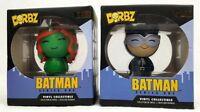Dorbz Batman Series One set of 2  catwoman #31 and poison ivy #32 villains toys