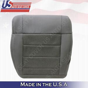 2007 2008 2009 2010 Jeep Wrangler Rubicon Driver Bottom Cloth Seat Cover Gray