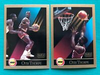 1990 Skybox OTIS THORPE Basketball Rare Error & Corrected Versions Cards #112