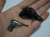 "1/6 Scale Hot WWII Walther P38 With Holster for 12"" Action figure Toys"