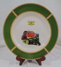 JOHN DEERE MEMORIES by Gibson Cream Green Rim Barn Tractor Words