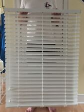 "Hunter Douglas Everwood 2"" Traditional Blinds, White, 35"" X 56 1/4"",Four blinds"