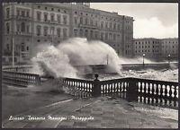 AA4041 Livorno - Città - Terrazza Mascagni - Mareggiata - Cartolina postale