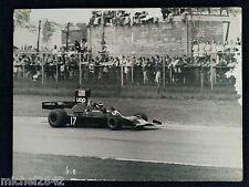 Photo 30 x 40 cm Formule 1 jean Pierre Jarier UOP Shadow F1 sport automobile