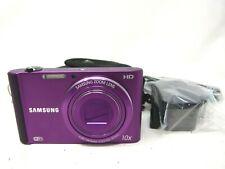Samsung ST Series ST200F 16.1MP Digital Camera - Purple-Used