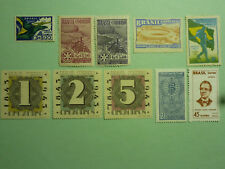 LOT 5375 TIMBRES STAMP POSTE AERIENNE BRESIL ANNEE 1933-66