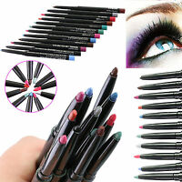 12 Colors Professional Waterproof Eye Shadow Lip Eyeliner Pen Pencil Makeup Set