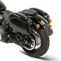 V-Rod//Muscle Springer Classic Street-Rod Satteltaschen 2x15l und Anbausatz Paar f/ür Harley Davidson Sportster Forty-Eight 48// Seventy-Two Street 750