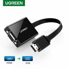 Ugreen 1080P Active HDMI to VGA Audio Adapter Converter for PS4 Xbox Chromebook