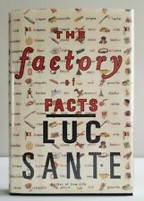SIGNED The Factory of Facts Luc Sante 1998 Hardcover First Edition Autographed