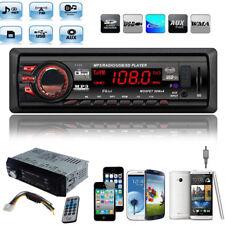 In Dash Car Audio Stereo Player Radio Head Unit MP3/USB/SD/AUX/FM Input AUX