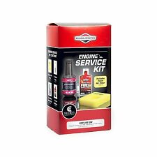 Briggs & Stratton ALL-IN-ONE ENGINE SERVICE KIT 440ml Oil, USA Brand- E SERIES