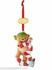 Hallmark 2013 My Third Christmas Bear Personalize with Year Sticker Ornament