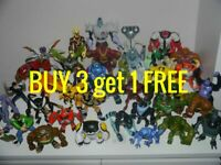 Ben 10 Action Figures Large 15 cm & more CHEAP  FREE POSTAGE   BUY 3 get 1 FREE