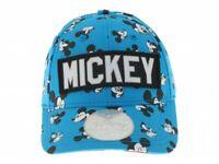 Chapeau Mickey Original Mickey Souris Bleu Réglable 54 CM Bébé
