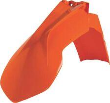 Parafanghi e paraspruzzi arancione Acerbis per moto