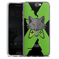 HTC One A9 Silikon Hülle Case handyhülle - VfL Wolfsburg X eSport