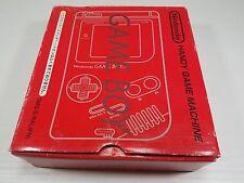 Original Red Nintendo Game Boy System Console DMG Japan # gb boxed