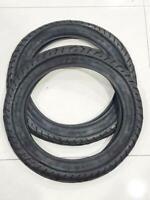 TWO MOTORCYCLE TIRES 6 PR TUBE TYPE 3.25-18  100/80-18 GOMAS DE MOTO 3.25-18