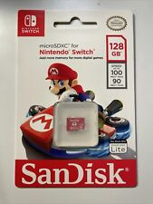 SanDisk 128 Gb Micro Sdxc Memory Card for Nintendo Switch 100mb/s Switch Lite