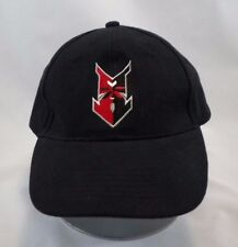 Indianapolis Indians Baseball Cap Embroidered Arrow Black Red Adjustable Hat