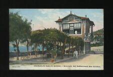 Italy GRIMALDI-BALZI-ROSSI Ricordo del Restaurant des Grottes 1910 used PPC
