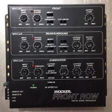 Kicker Front Row Zxdsp1 6 Channel Digital Signal Processor Eq