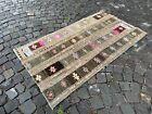 Turkish area rug, Vintage wool rug, Carpet, Handmade rug | 2,9 x 5,4 ft