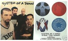 """SYSTEM OF A DOWN """"STEAL THIS ALBUM"""" 2-SIDED U.S. PROMO POSTER - Alt Metal Music"""