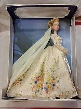 "Disney Limited Cinderella Platinum Wedding 17"" Doll (only 500 made worldwide)"