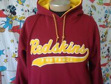 Vintage 1990's Washington Redskins Starter Scripted NFL Hoodie Sweatshirt  Sz L