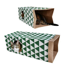 Animal Pet Cat Tunnel Tubes Toys Cat Rabbit Collapsible Fun Toy Outdoor Tunnels
