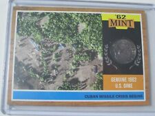 2011 Topps Heritage '62 Mint #62M-CM MISSILE CRISIS BEGINS Dime Coin Card