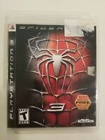 SPIDERMAN 3 PLAYSTATION THREE COMPLETE RARE ACTIVISION FREE S/H MARVEL