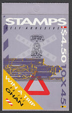 1993 Australian Stamps: Trains Booklet - Overprint - Qld Stamp Show