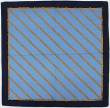 """""""Equestrian Belt Diagonal Motif Pocket 26"""" Sq"""""""