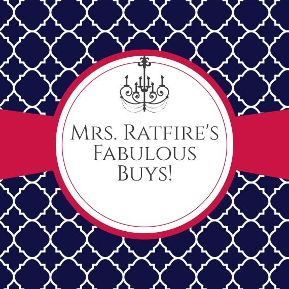 Mrs.Ratfire's Fabulous Buys-