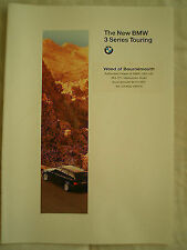 BMW 3 Series Touring brochure 1995
