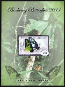 Papua-Neuguinea 2011 - Mi-Nr. Block 134 ** - MNH - Schmetterlinge / Butterflies