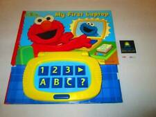 """SESAME STREET """"My First Laptop"""" INTERACTIVE Play-A-Sound HARDCOVER"""