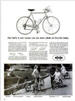 1965 Huffy PRINT AD  Ladies Boys Girls 3 Wheel Bike Bicycle