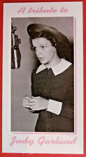JUDY GARLAND - Card # 01 individual card - Tribute Collectables - 2010