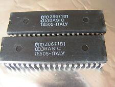 1 circuit SGS Z8671B1 BASIC ( Z80 eq zilog )