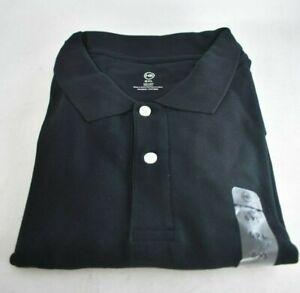 Harbor Bay 6XL Black Pique Polo Shirt