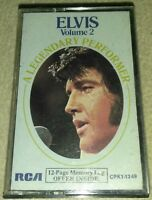 ELVIS PRESLEY A Legendary Performer Vol 2 ~ 1976 Cassette Tape