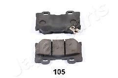 Fits 370z 3.7 Z34 Petrol 09-17 Set of Rear Brake Pads